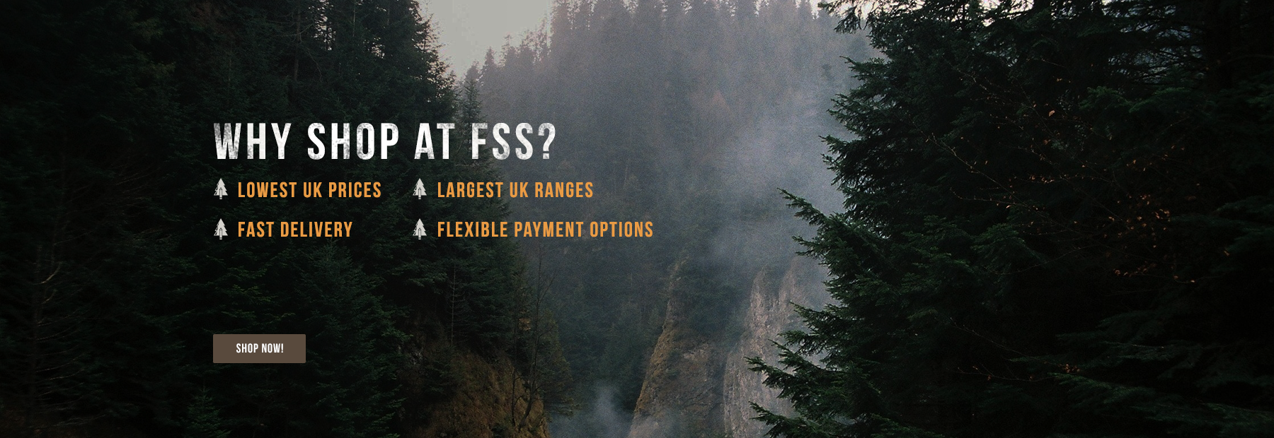 Why Shop at FSS?